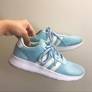 Adidas Neo Sky Blue Athletic Shoes